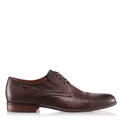 Pantofi barbati 2883 piele naturala maro