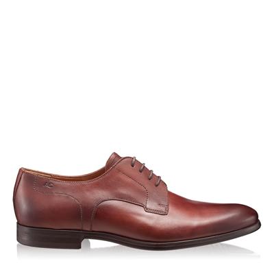 Pantofi Eleganti Barbati 2872 Vitello Castagna