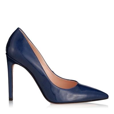 Pantofi Eleganti Dama 3200 Lac Canvas Blue
