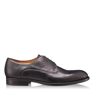 Изображение Элегантные мужские туфли 6626 Vitello Negru