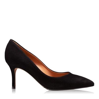 Изображение Элегантные женские туфли 4416 Camoscio Negru