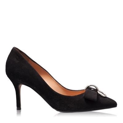 Imagine Pantofi Eleganti Dama 4590 Camoscio Negru