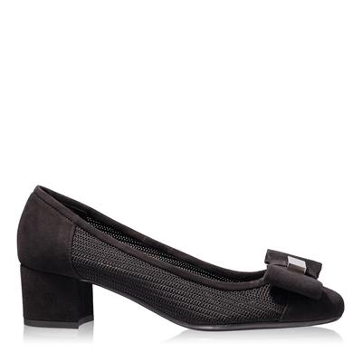 Imagine Pantofi Eleganti Dama 4679 Cam+Rete Nero