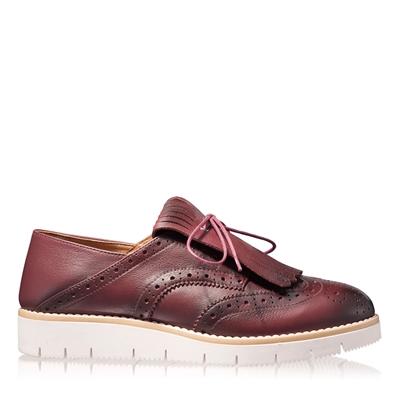 Imagine Pantofi Casual Dama 4834 Vitello Bordo