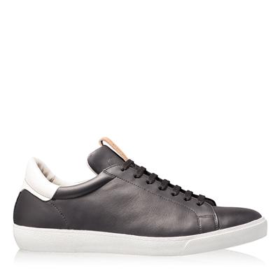 Imagine Pantofi Sport Barbati 6700 Vit Negru+Alb