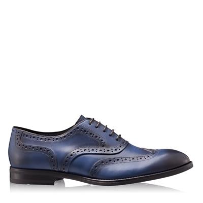 Imagine Pantofi Eleganti Barbati 6664 Vitello Blue