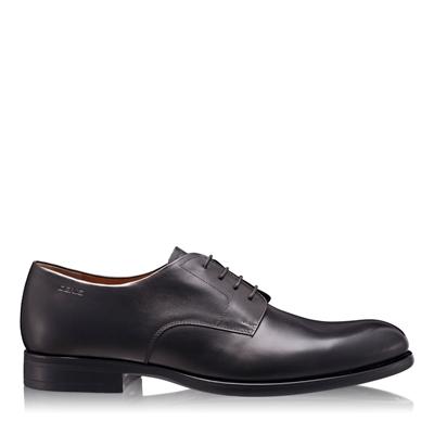 Изображение Элегантные мужские туфли 6625 Vitello Nero