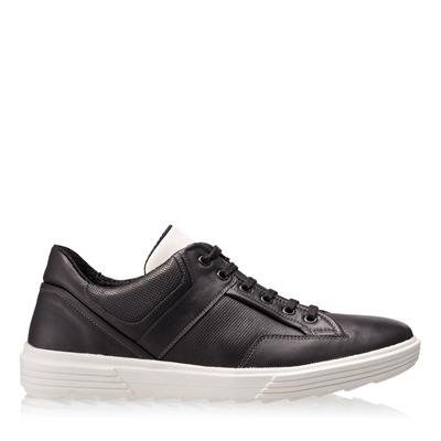 Imagine Pantofi Sport Barbati 6706 Vit Negru+Alb