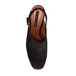 Pantofi Decupati Dama 4581 Camoscio Negru