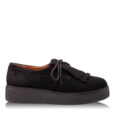 Imagine Pantofi Casual Dama 4876 Crosta Negru