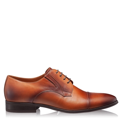 Изображение Элегантные мужские туфли 6850 Vitello Cognac