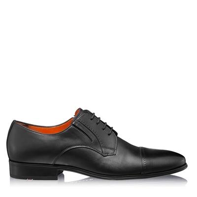 Изображение Элегантные мужские туфли 6850 Vitello Negru