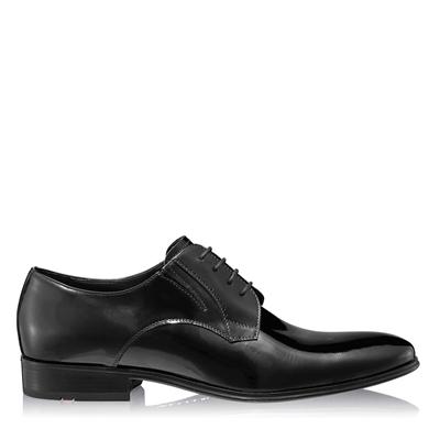 Изображение Элегантные мужские туфли 6851 Vernice Negru