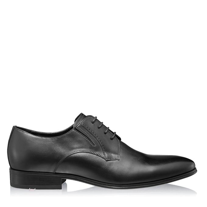 Imagine Pantofi Eleganti Barbati 6851 Vitello Negru