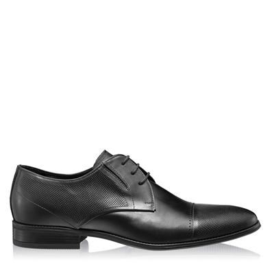 Изображение Элегантные мужские туфли 6856 Vitello Negru