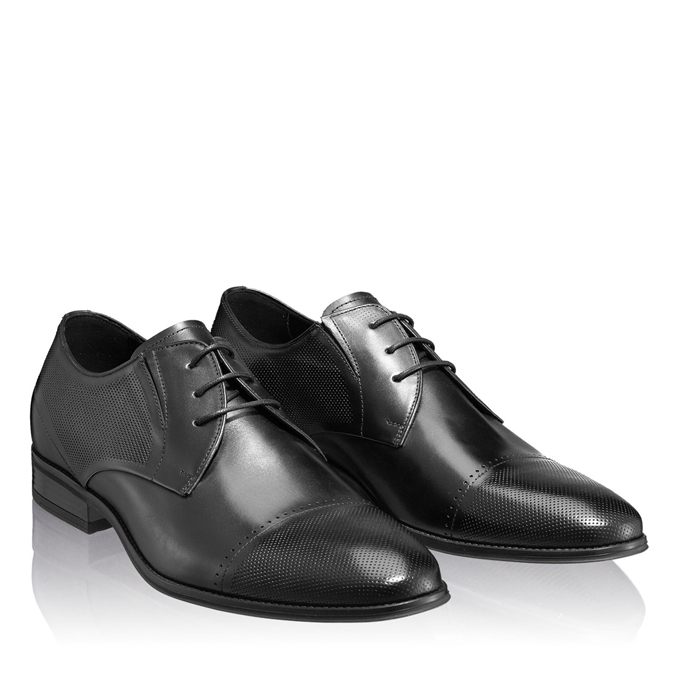 Imagine Pantofi Eleganti Barbati 6856 Vitello Negru