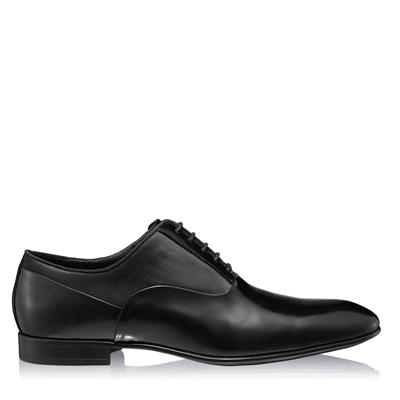 Изображение Элегантные мужские туфли 6873 Abrazivato Negru