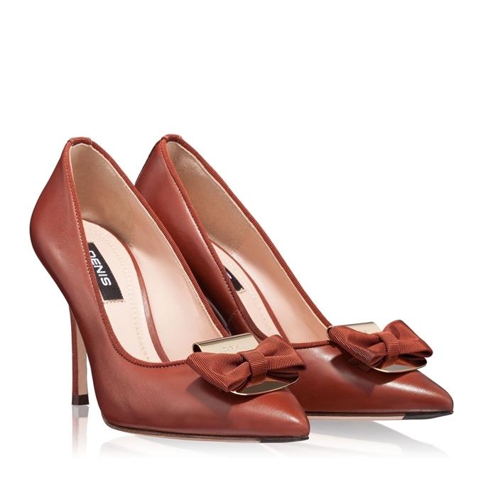 Imagine Pantofi Eleganti Dama 3509 Vitello Castagna