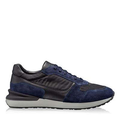 Imagine Pantofi Sport Barbati 6901 Crosta Blue+Tesut Negru