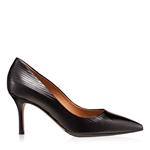 Imagine Pantofi Eleganti Dama 4416 Lac Negru Stamp