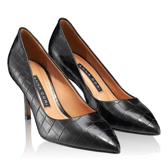 Imagine Pantofi Eleganti Dama 4416 Cocco Negru