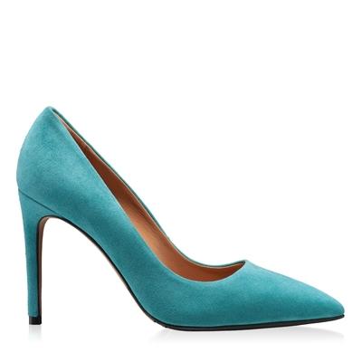 Imagine Pantofi eleganti Dama 4332 Camoscio Turchese