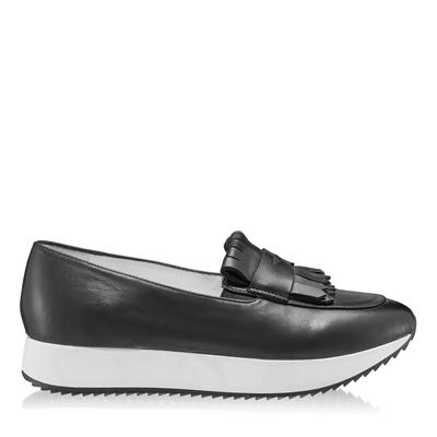 Imagine Pantofi Casual Dama 7112 Vitello Negru