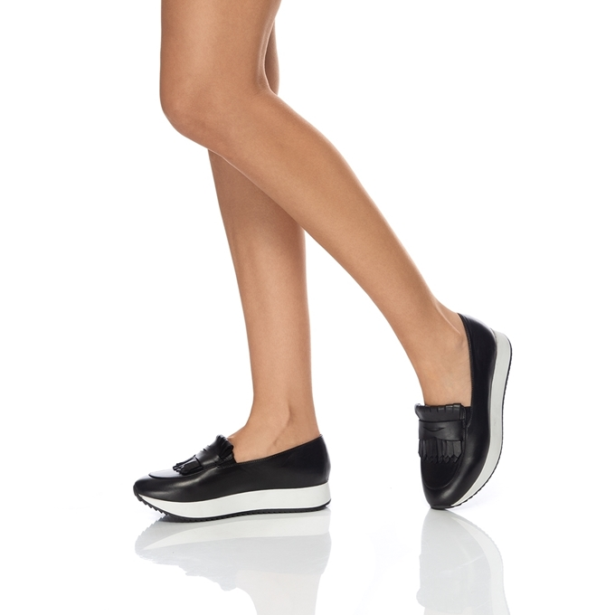 Изображение Туфли женские CASUAL 7112 Vitello Negru