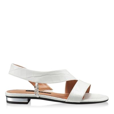 Imagine Sandale Dama 5840 Croco Alb