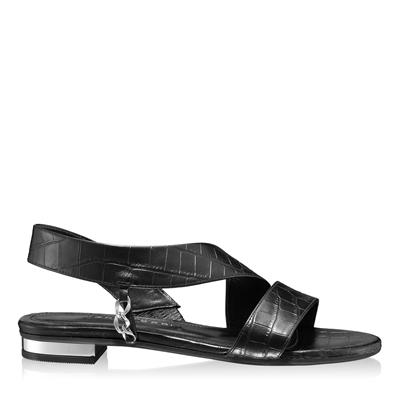 Imagine Sandale Dama 5840 Croco Negru