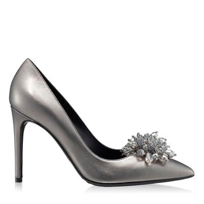 Imagine Pantofi Eleganti Dama 5623 Laminato Ferro