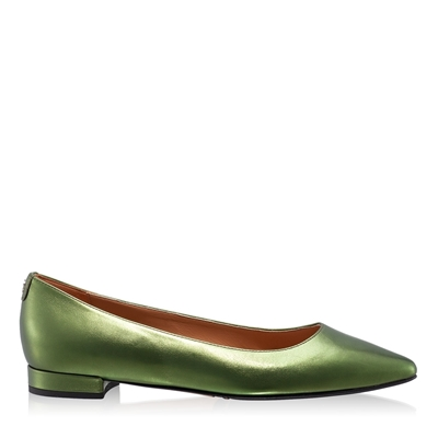 Imagine Pantofi Casual Dama 5859 Laminato Verde